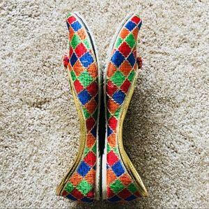 Shoes - New 2018 ! Rainbow Pom Pom Jutti